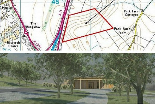 Uttlesford District Council approves plans for new crematorium at Great Chesterford