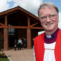 Bishop of Sherwood dedicates new Gedling Crematorium