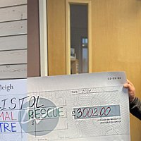 Westerleigh Group supports animal rescue centre