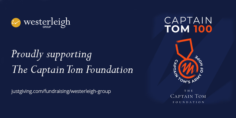 Westerleigh Group's fundraising tribute to Captain Sir Tom Moore