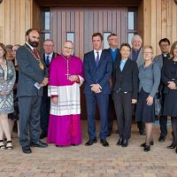 Bishop of East Anglia blesses new crematorium for Uttlesford